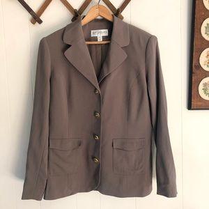 St. John Collection • Virgin Wool Blazer
